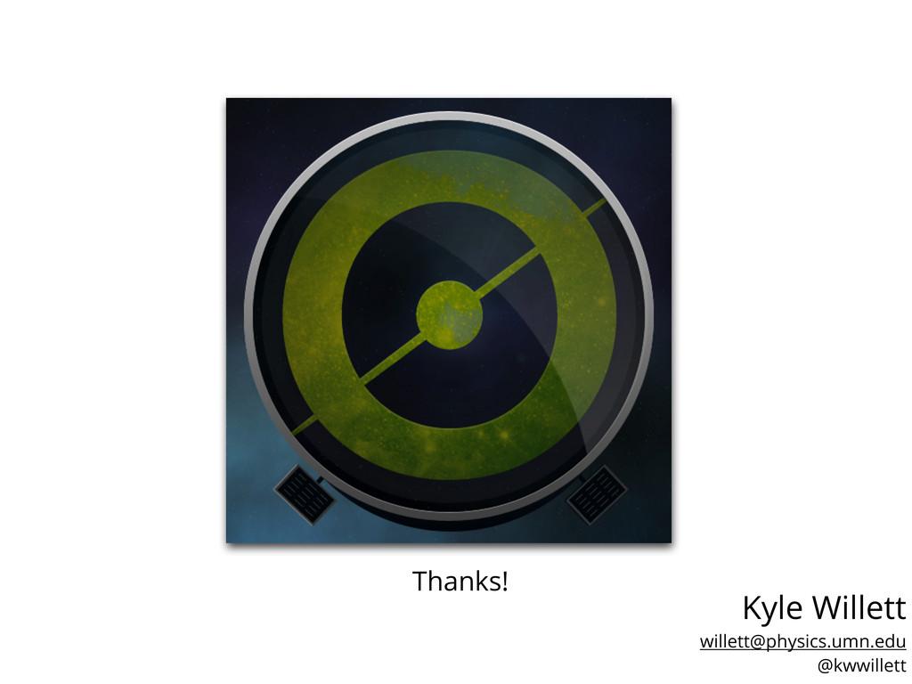 Kyle Willett - Univ. of Minnesota YCAA Seminar ...