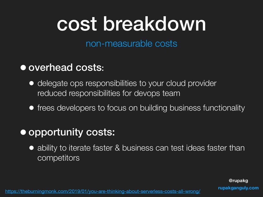 @rupakg rupakganguly.com •overhead costs: • del...