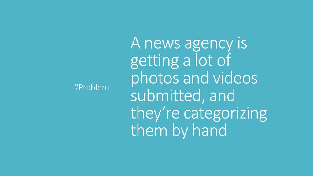 A news agency is getting a lot of photos and vi...