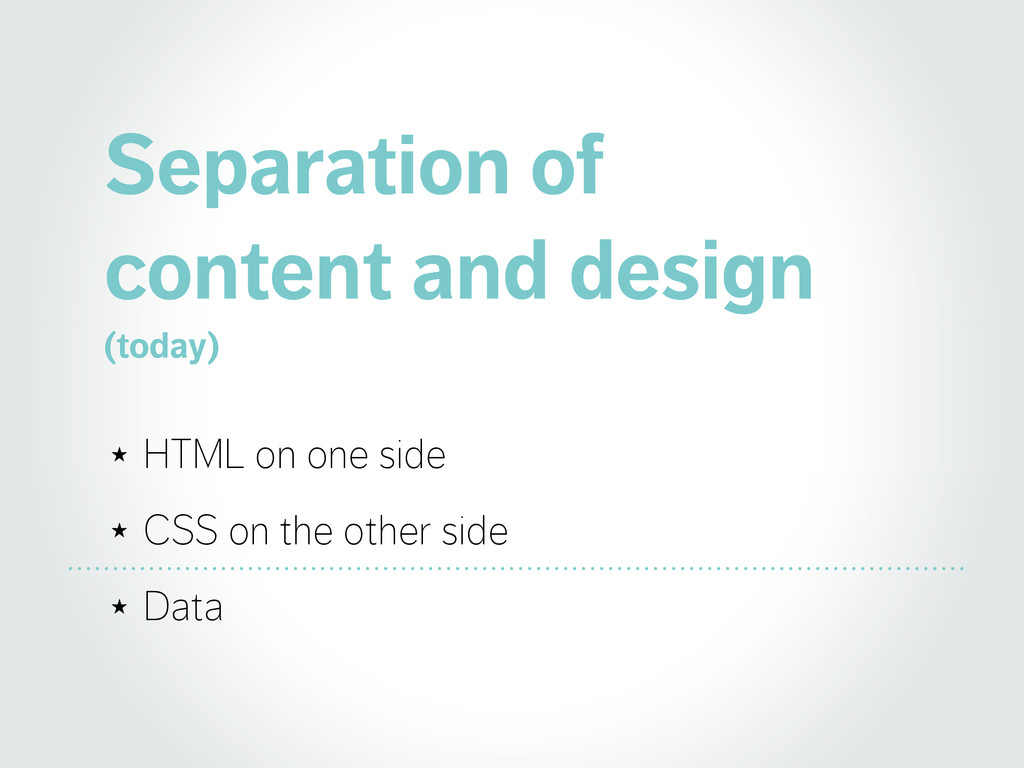 Separation of 