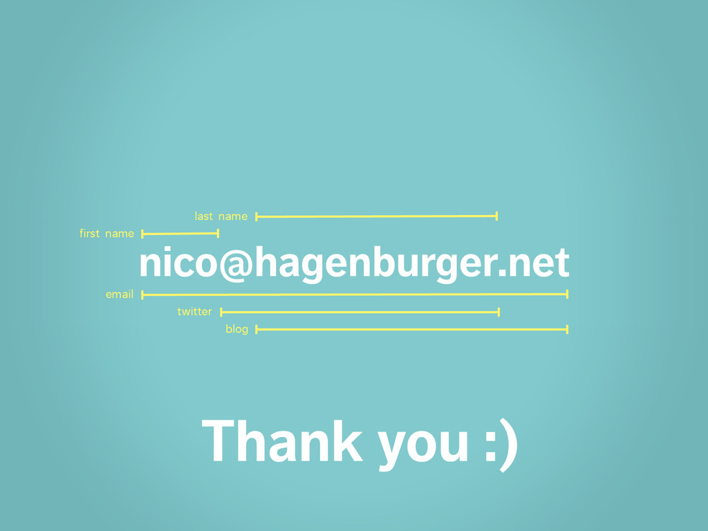 nico@hagenburger.net email twitter blog first n...