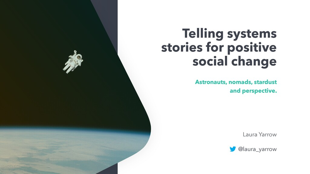 Telling systems stories for positive social cha...