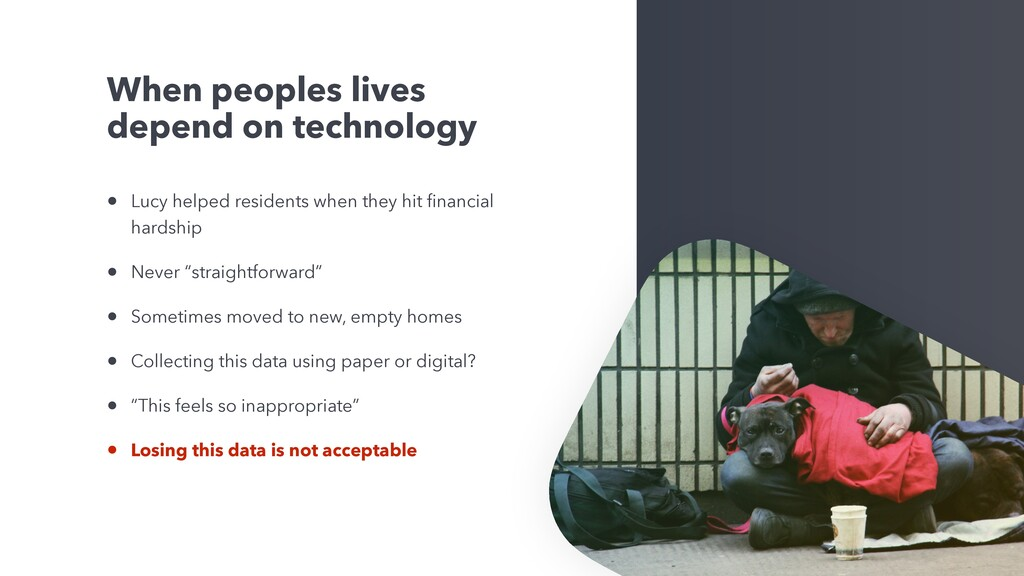 When peoples lives depend on technology • Lucy ...