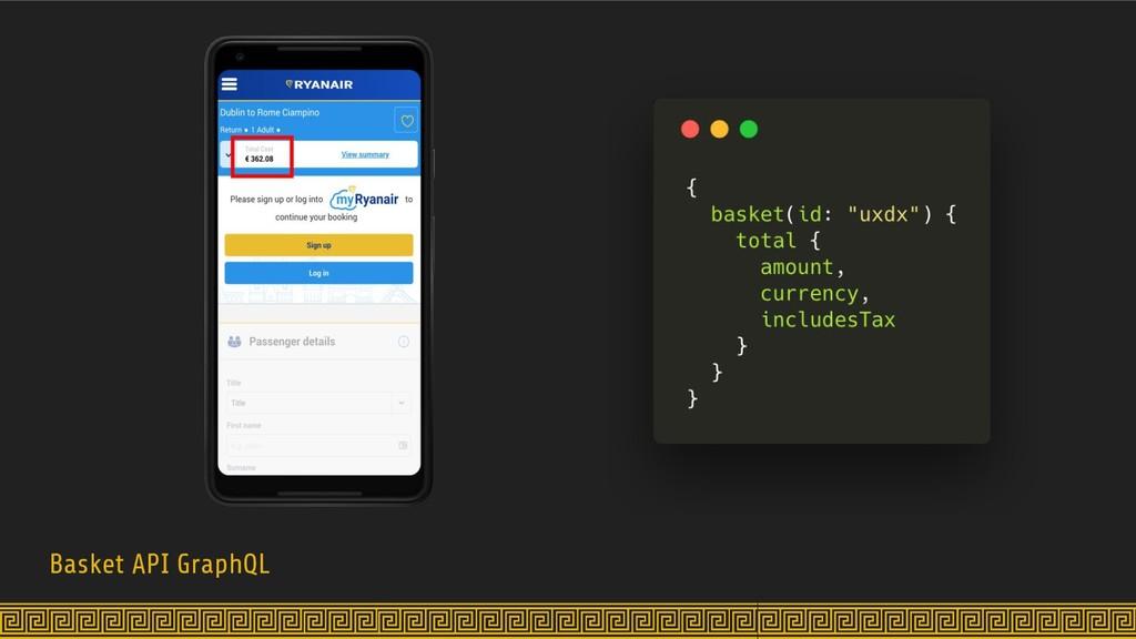Basket API GraphQL