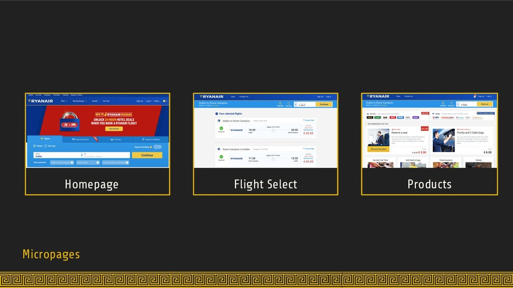 Micropages Homepage Flight Select Products