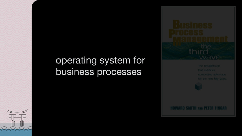 is an  operating system for business processes