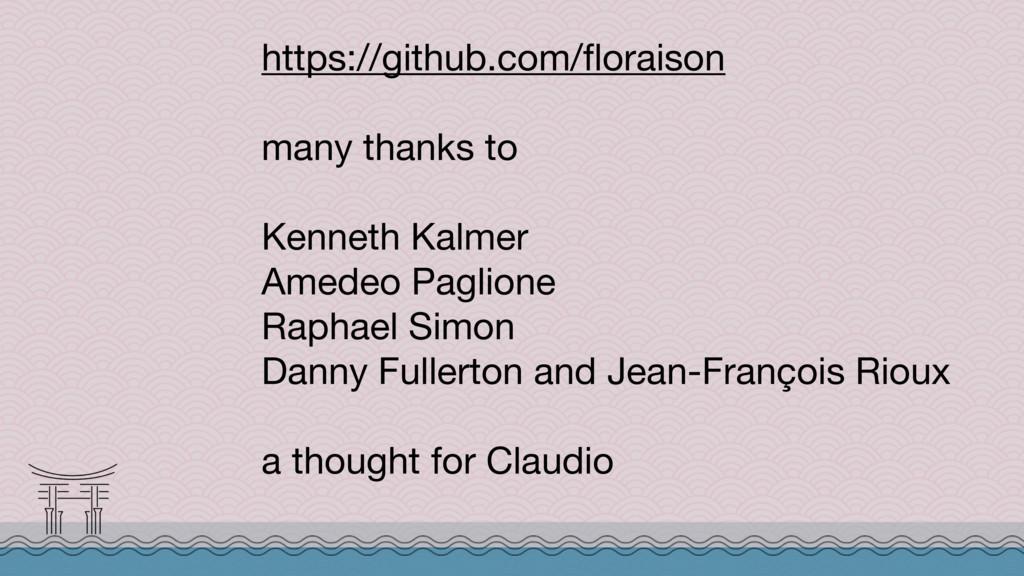 https://github.com/floraison  many thanks to  ...