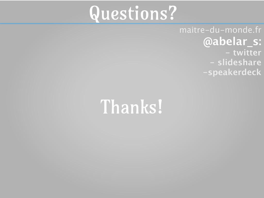 maitre-du-monde.fr @abelar_s: - twitter - slide...