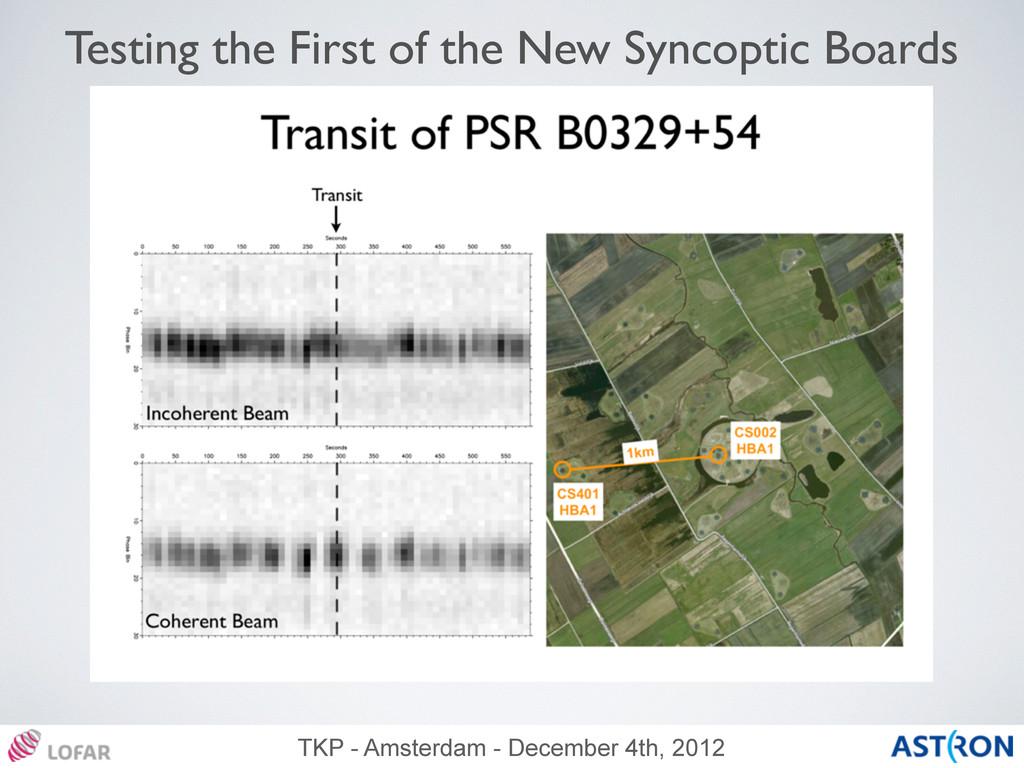 TKP - Amsterdam - December 4th, 2012 Testing th...