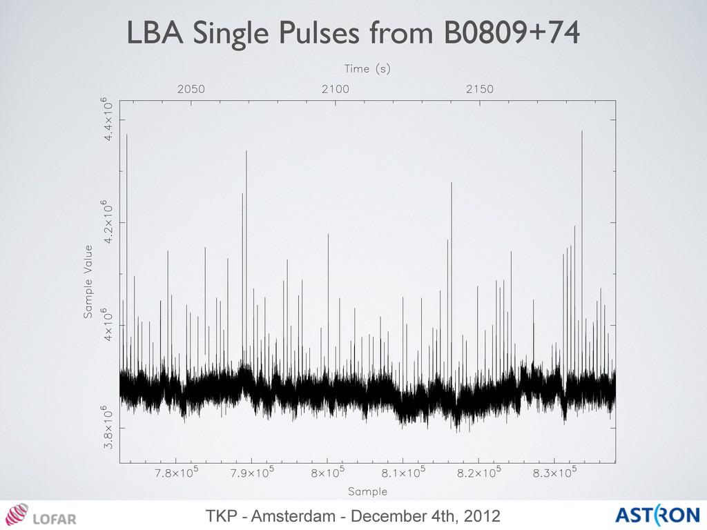 TKP - Amsterdam - December 4th, 2012 LBA Single...