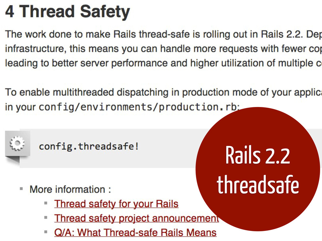Rails 2.2 threadsafe