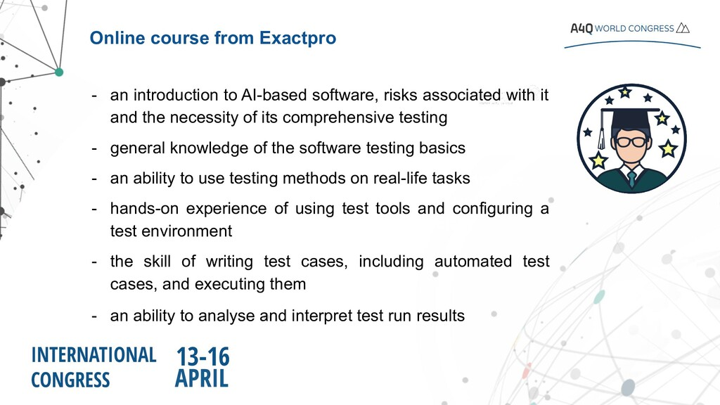 Online course from Exactpro Software Testing fo...