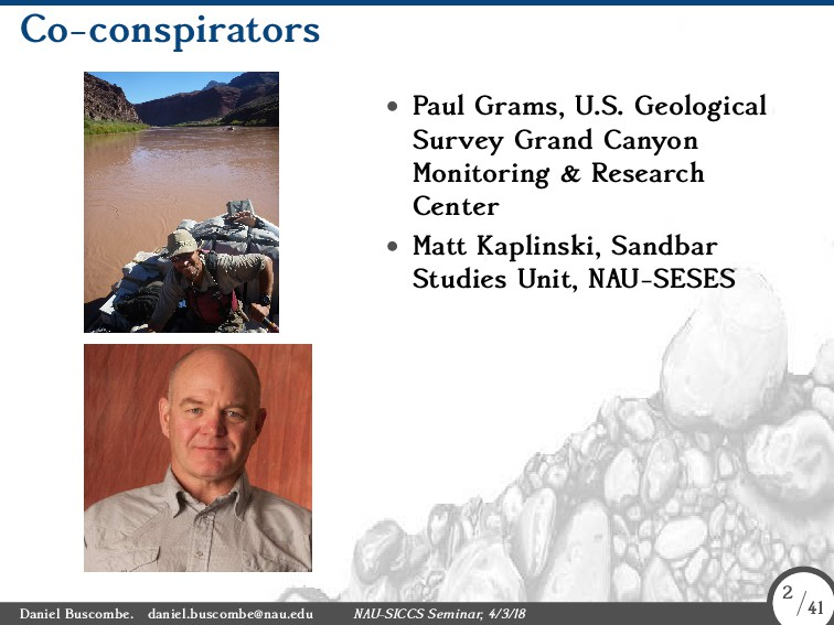 Co-conspirators • Paul Grams, U.S. Geological S...