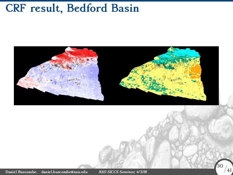 CRF result, Bedford Basin Daniel Buscombe. dani...
