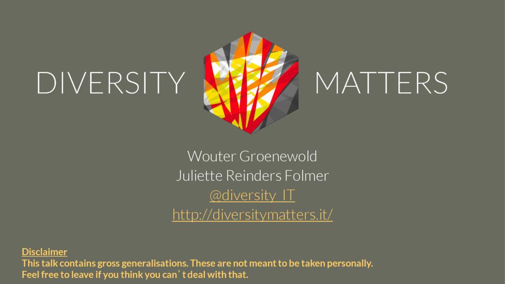 Wouter Groenewold Juliette Reinders Folmer @div...