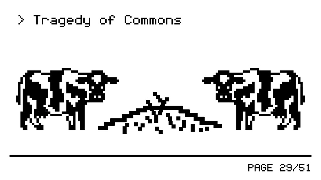 PAGE 29/51 > Tragedy of Commons