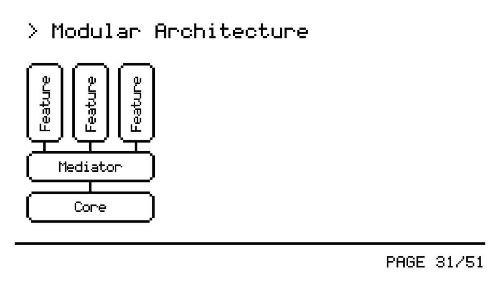 PAGE 31/51 > Modular Architecture