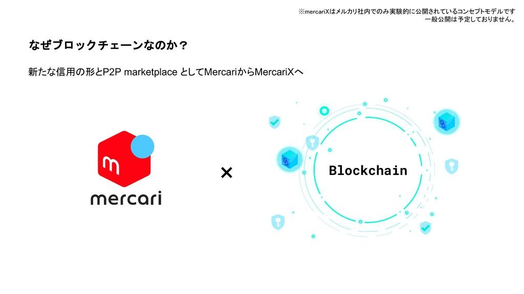 なぜブロックチェーンなのか? 新たな信用の形とP2P marketplace としてMerca...