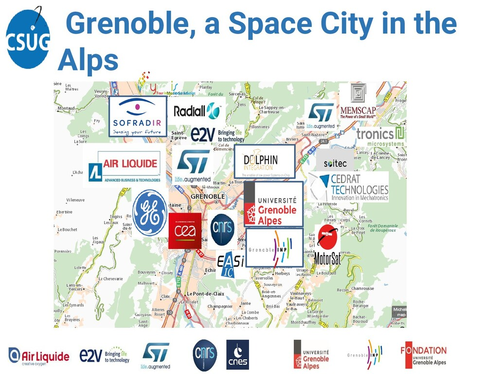 Grenoble, a Space City in the Alps