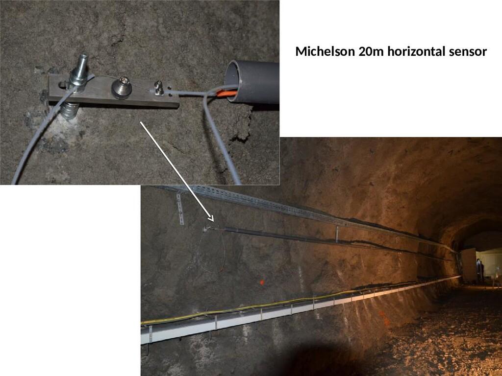 Michelson 20m horizontal sensor