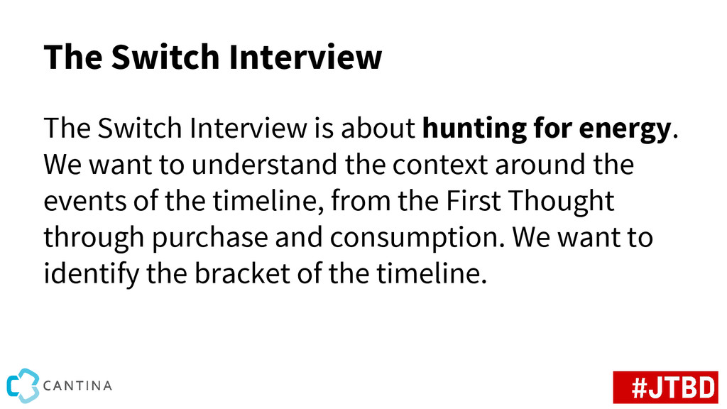 The Switch Interview The Switch Interview is ab...