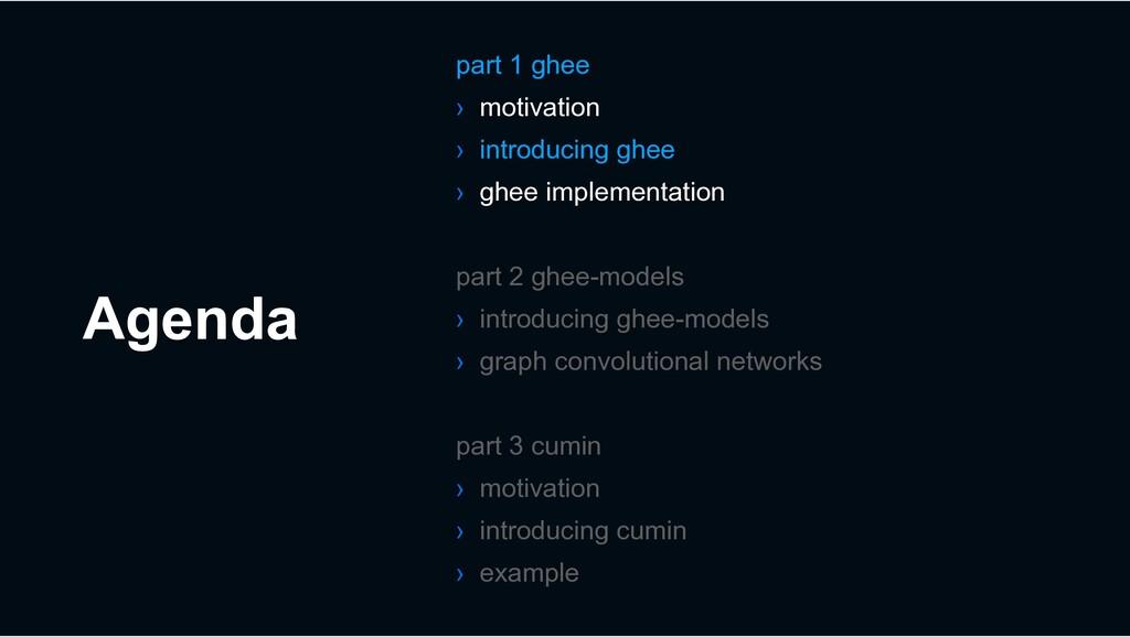 Agenda part 1 ghee › motivation › introducing g...