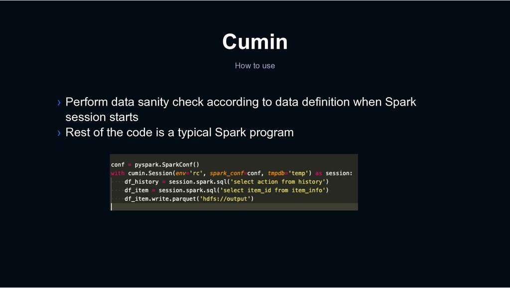Cumin › Perform data sanity check according to ...