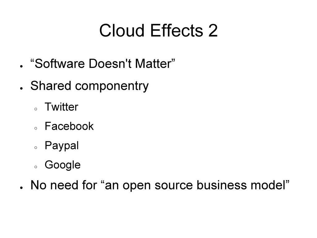 "Cloud Effects 2 ● ""Software Doesn't Matter"" ● S..."