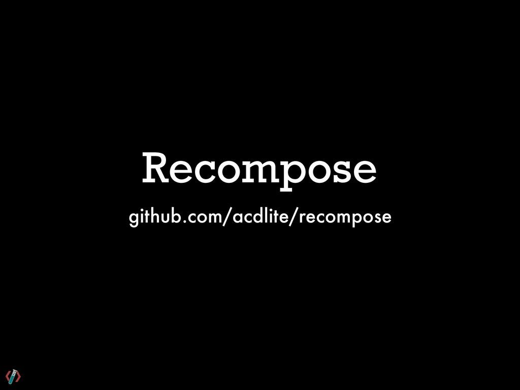 Recompose github.com/acdlite/recompose