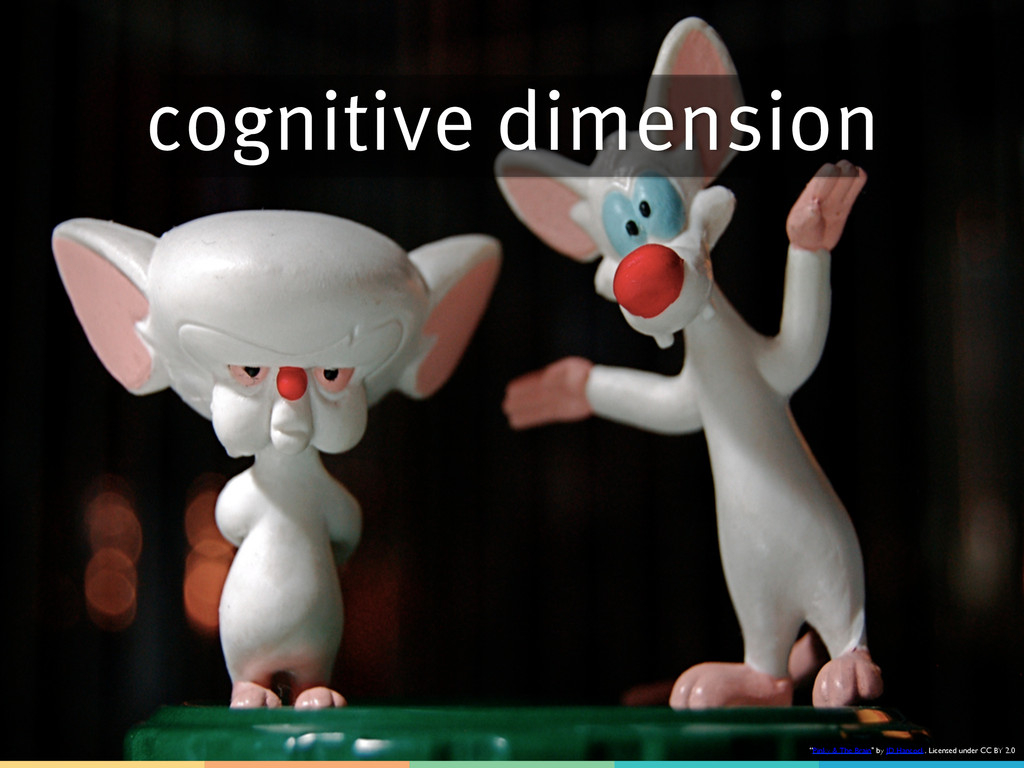 """cognitive dimension """"Pinky & The Brain"""" by JD H..."""