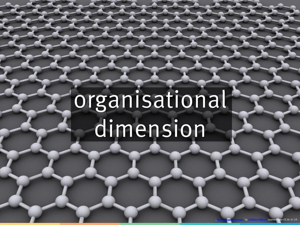 """organisational dimension """"Model of graphene str..."""