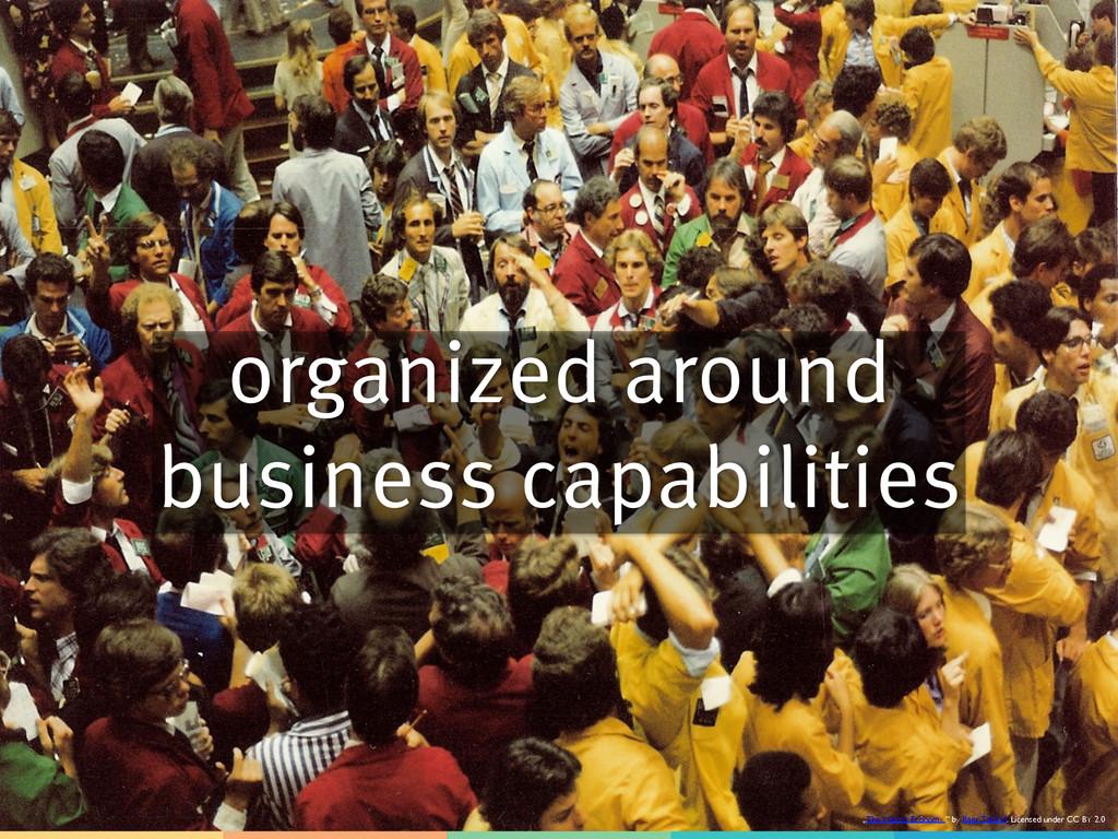 "organized around business capabilities ""The Mar..."