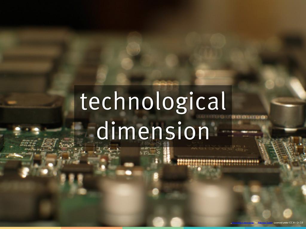 "technological dimension ""Microchip e microciop""..."