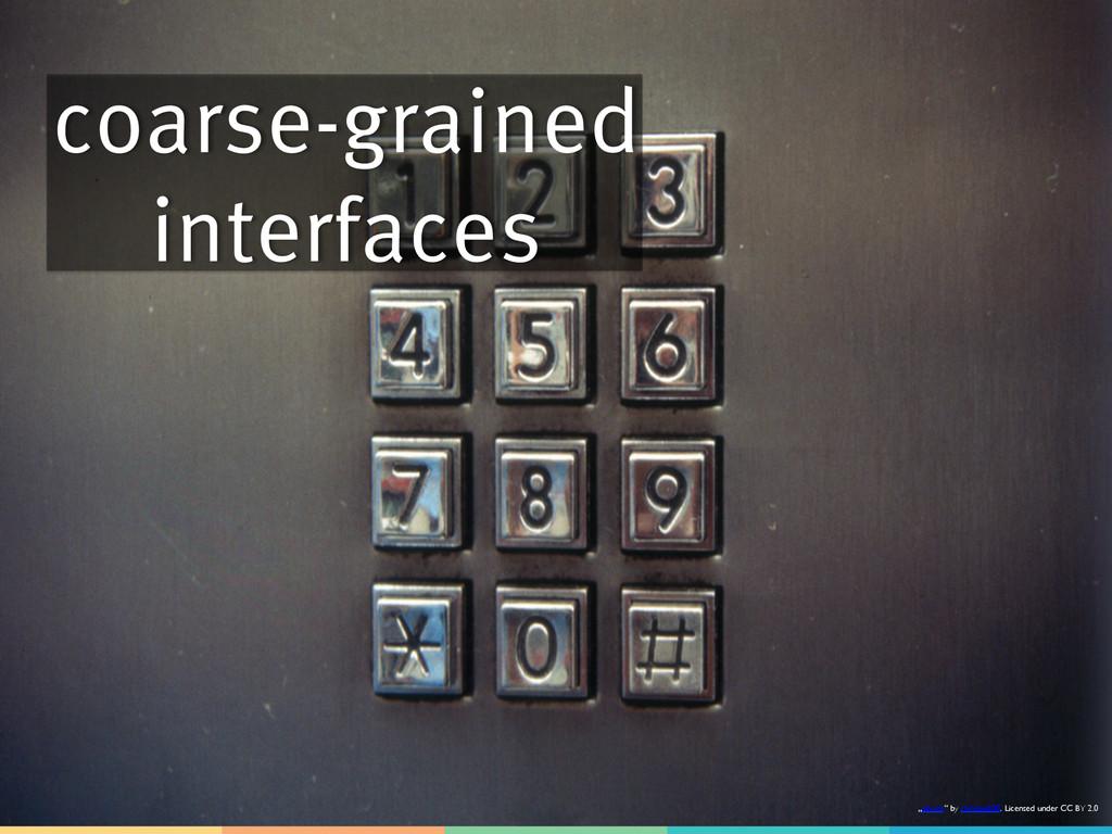 "coarse-grained interfaces ""phone"" by raindog808..."