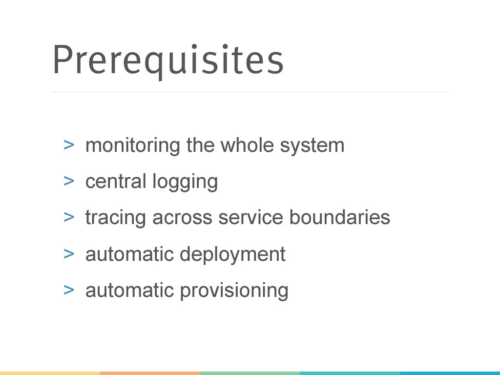 Prerequisites > monitoring the whole system >...