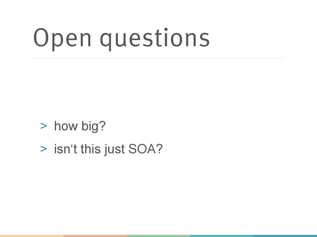 Open questions > how big? > isn't this just S...