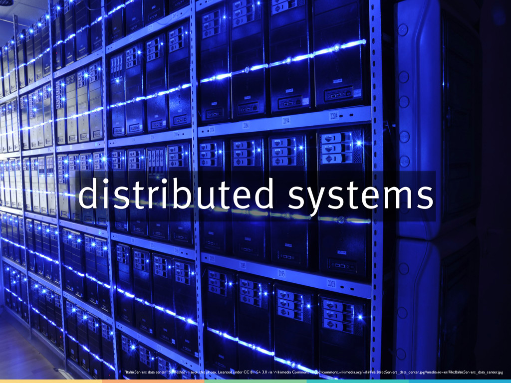 """distributed systems """"BalticServers data center""""..."""