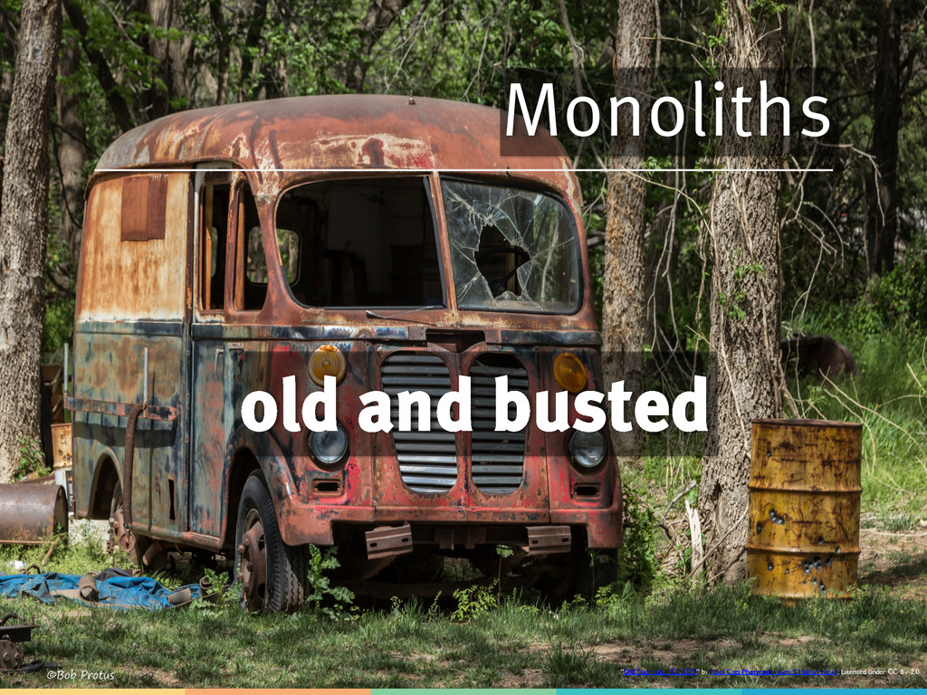 """Monoliths old and busted """"Old Step Van_MG_3279""""..."""