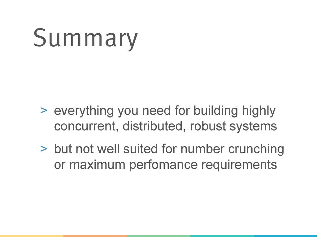 Summary > everything you need for building hig...