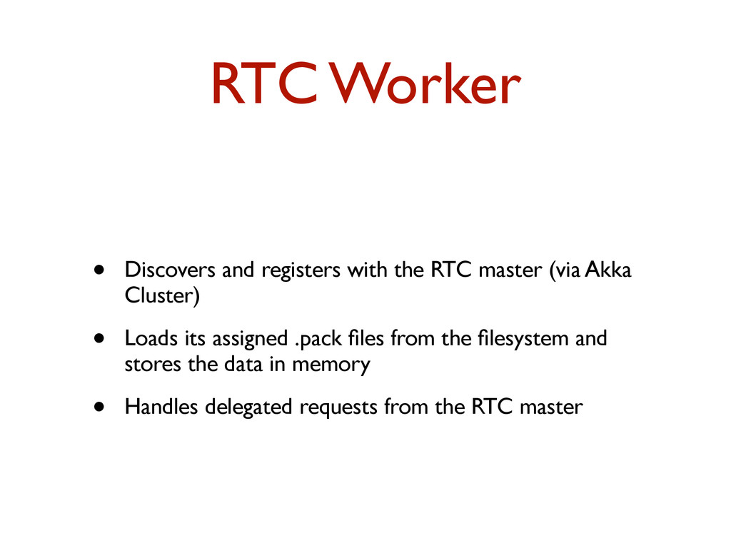 RTC Worker • Discovers and registers with the R...