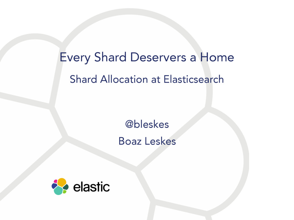 Every Shard Deservers a Home Shard Allocation a...