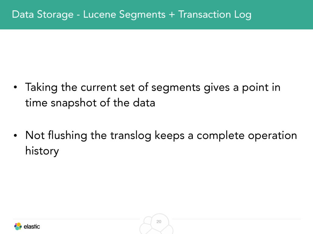 20 Data Storage - Lucene Segments + Transaction...