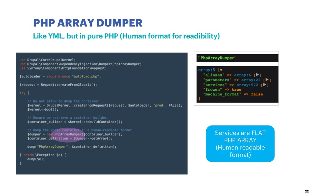 PHP ARRAY DUMPER 22 Like YML, but in pure PHP (...
