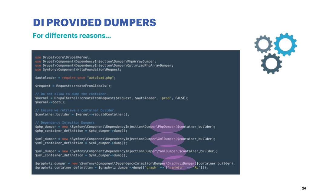 DI PROVIDED DUMPERS 24 For differents reasons…