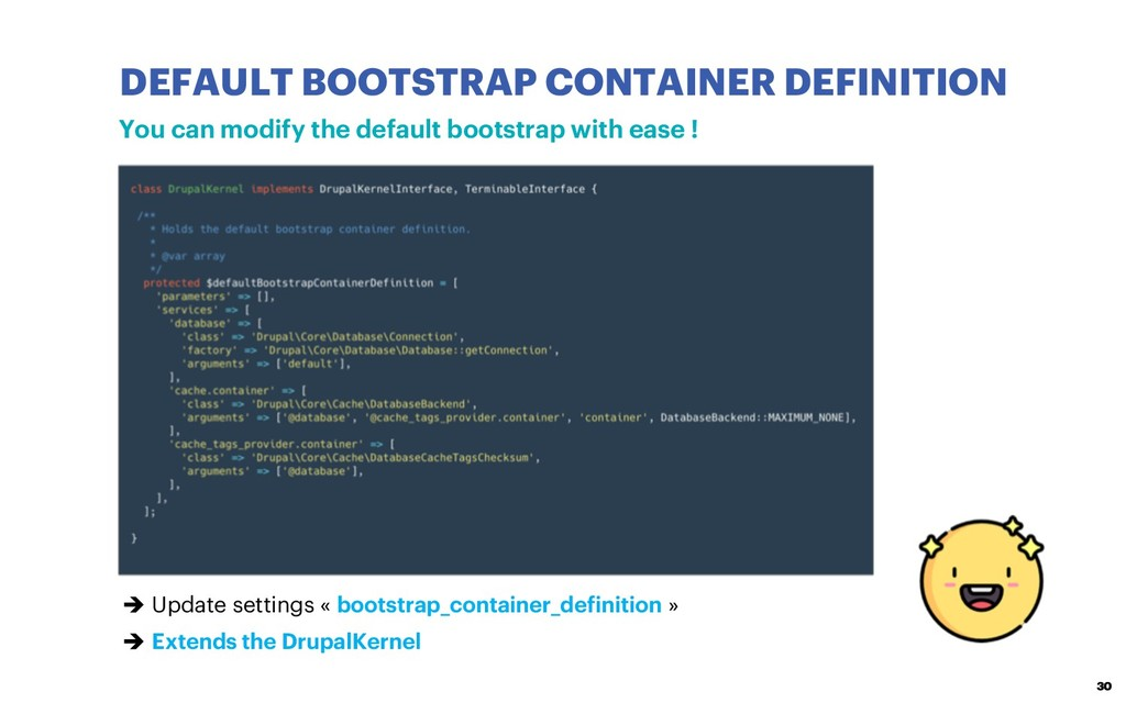 DEFAULT BOOTSTRAP CONTAINER DEFINITION 30 You c...