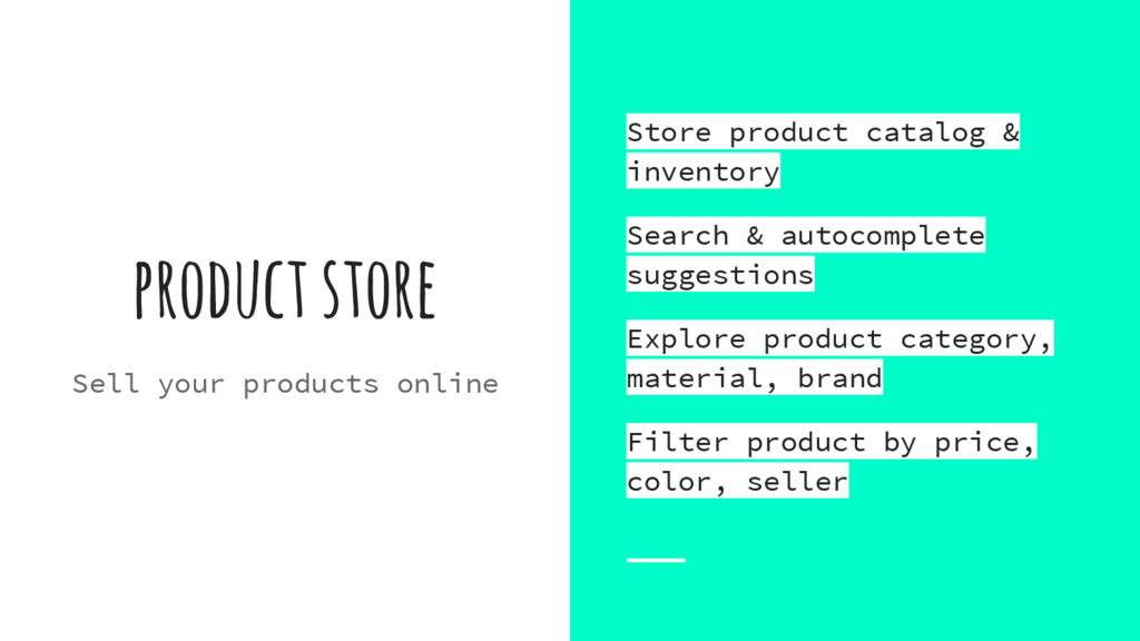 product store Sell your products online Store p...