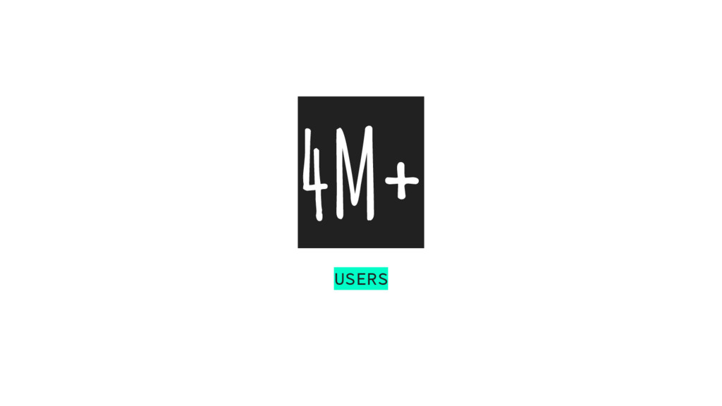 4M+ USERS