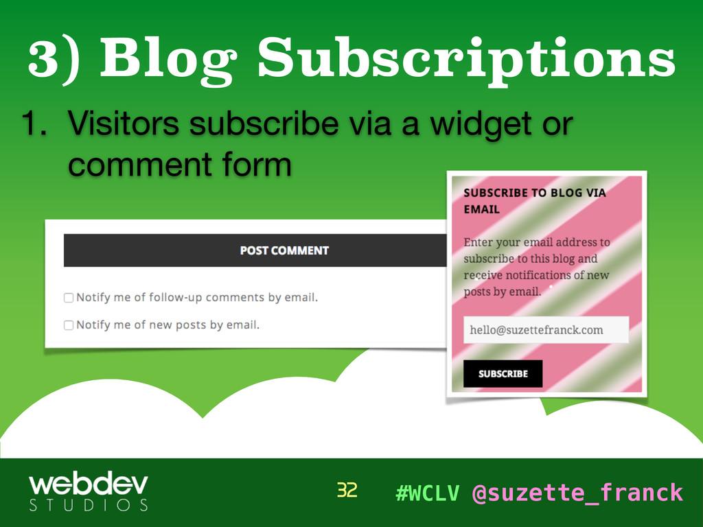 #WCLV @suzette_franck 1. Visitors subscribe via...