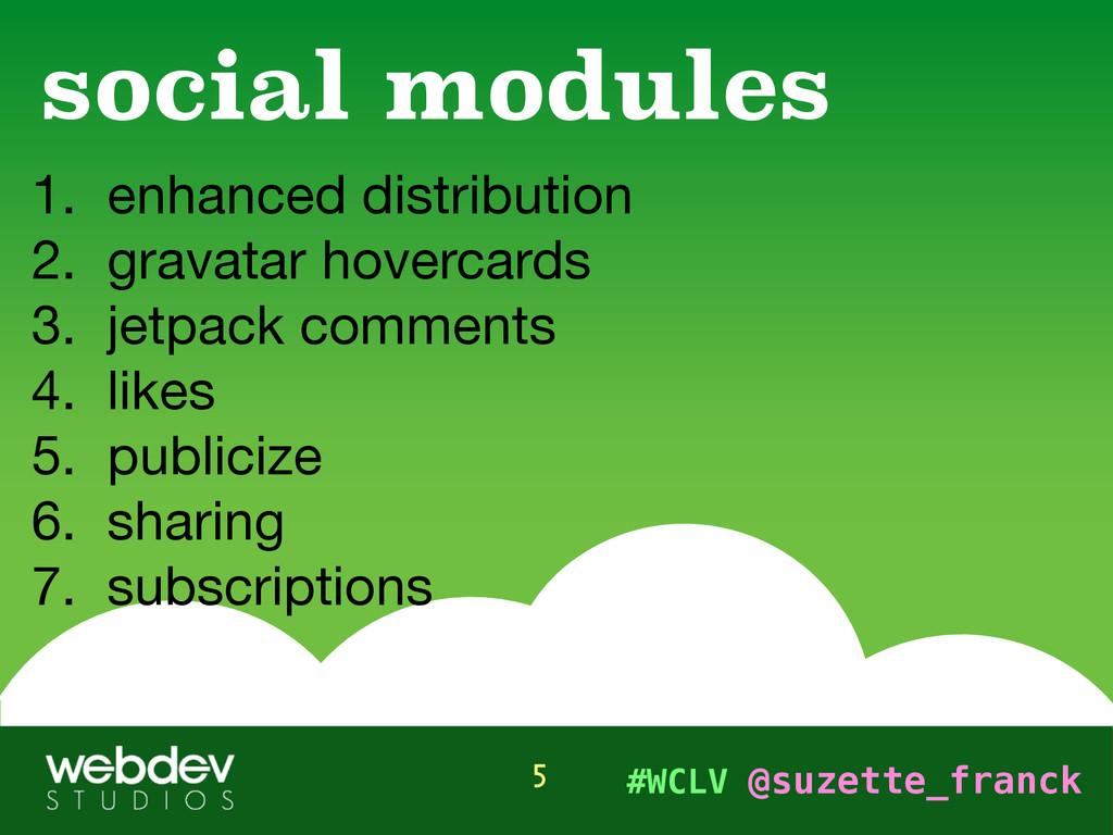 #WCLV @suzette_franck 1. enhanced distribution ...