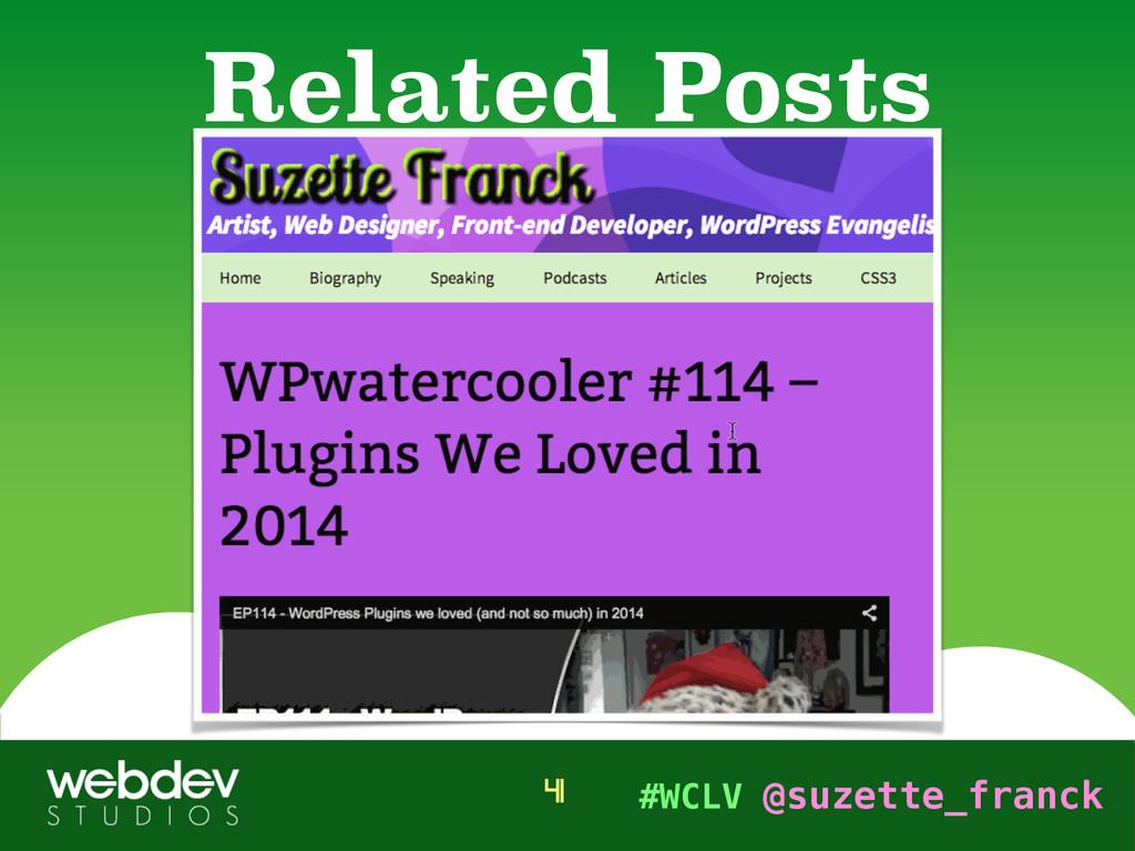 #WCLV @suzette_franck Related Posts 41
